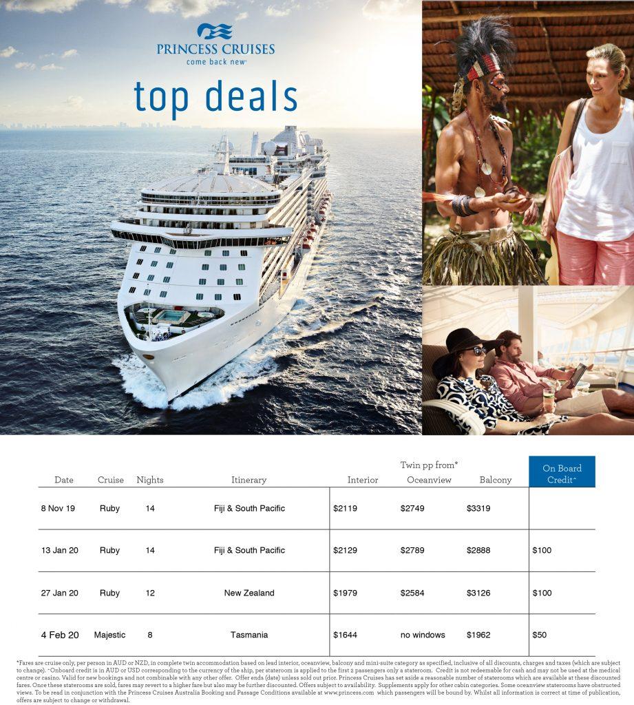 Princess Cruises - come back new